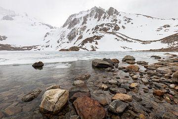 Berglandschap in Argentijns Patagonië van OCEANVOLTA