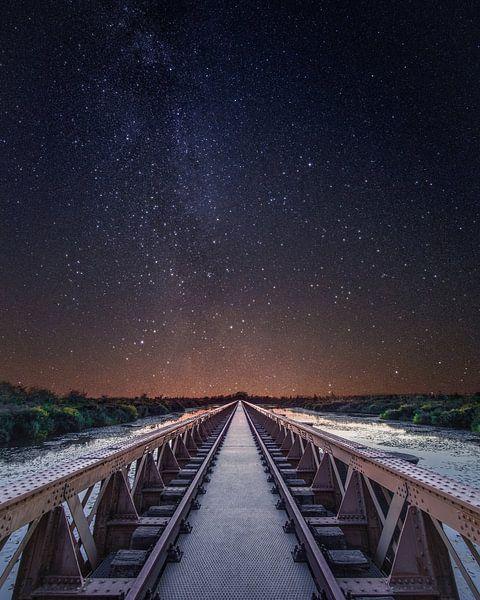 Melkweg Moerputtenspoorbrug Den Bosch van Joris Bax
