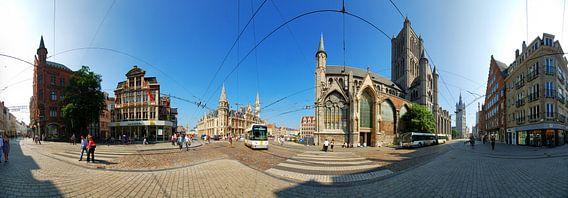 Gent, Korenmarkt van Sjoerd Mouissie