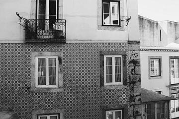 Lissabon schwarz-weiß von yasmin meraki
