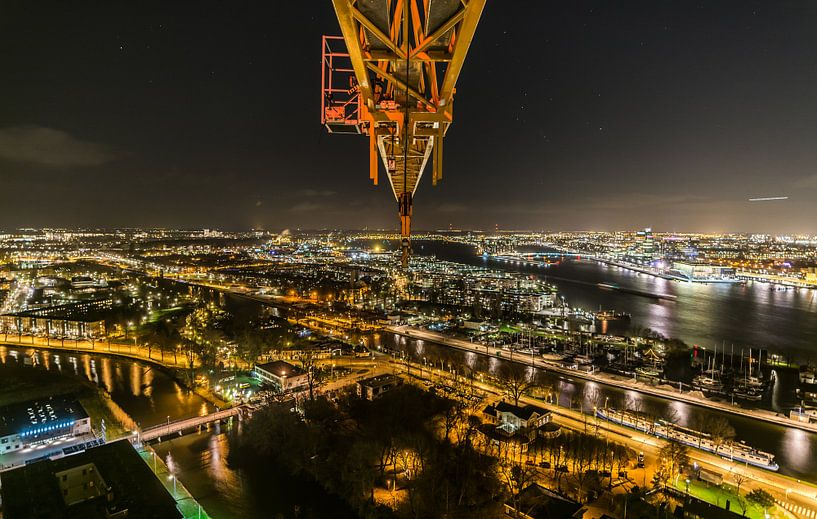 A'DAM toren - Panoramaview over Amsterdam. (8) van Renzo Gerritsen