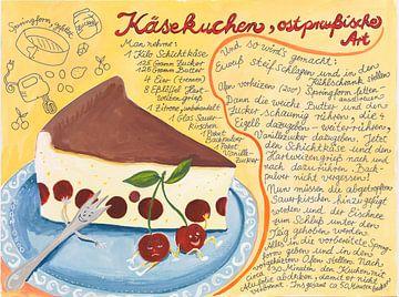 Käsekuchenrezept von Dorothea Linke