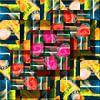 Abstrakte digitale Arbeit von Ton Kuijpers Miniaturansicht
