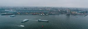 Uitzicht over de stad Amsterdam