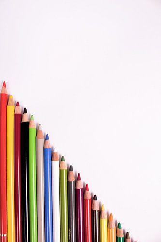 Farbenfroh van Daniel Cabajewski