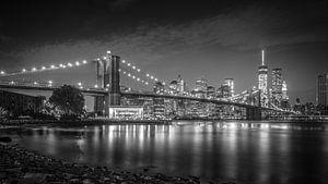 New York City Lights II van Dennis Wierenga