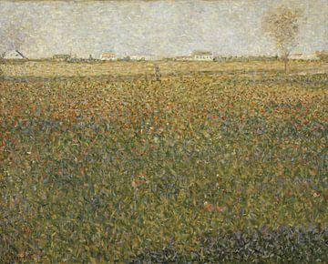 La Luzerne, Saint-Denis, Georges Seurat