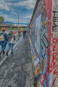 Eastside Berlijnse muur van Peter Bartelings