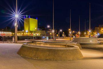Stationsplein Groningen van Johan Mooibroek