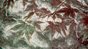 Bladeren en vrije bewerking van Francis Dost
