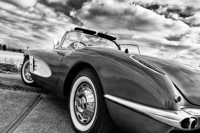 1959 Corvette C1 van Wim Slootweg