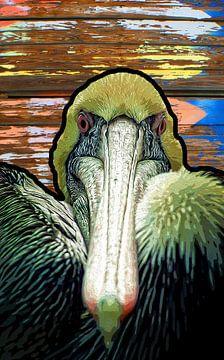 Pelikan von Cor Woudstra