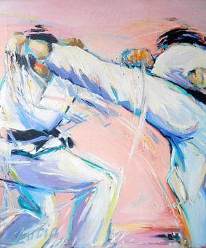Karate - Mawashi geri von Lucia Hoogervorst