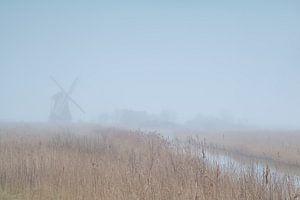 Windmill in the fog