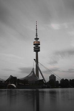 Olympiaturm München sur Heiko Obermair