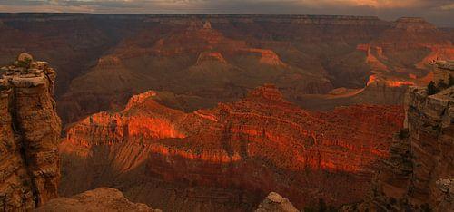 Grand Canyon Sunset van