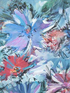 dezente Blumenart - Stillleben von Claudia Gründler