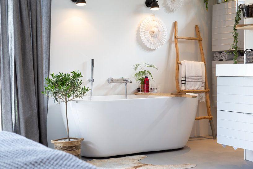 De badkamer van Petra Brouwer