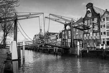 De ophaalbrug van Dordrecht von Petra Brouwer