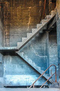 Escaliers sur Jack van der Spoel