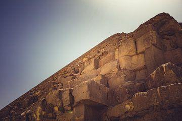 De Piramides in Gizeh 09 van FotoDennis.com