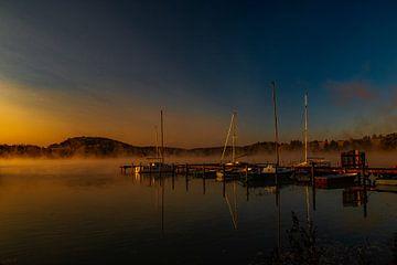 Mist over het water! van Erwin Martin