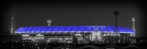 Feyenoord Stadion 25 (Zw/w)