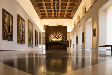 Saal im Museo de Bellas Artes de Granada (Museo de Bellas Artes de Granada) von René Weijers