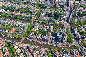 Luft Anne-Frank-Haus in Amsterdam von