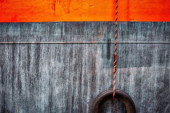 scheepswand met stootband van Linda Raaphorst