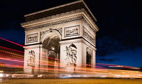 Parijs bij nacht.... van