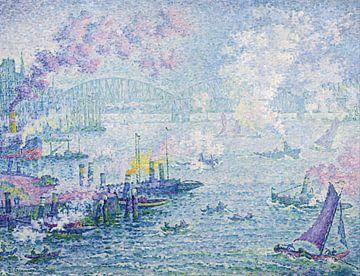 Port de Rotterdam par Paul Signac