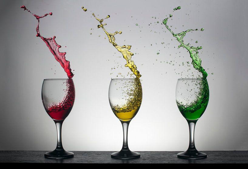 High speed wijnglazen van Theo Mulder