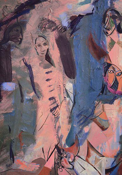 Renaissance Les Demoiselles d'Avignon sur Nop Briex