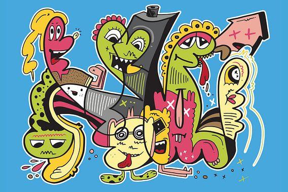 Graffiti Pop Art