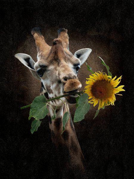 De zonnige Giraffe van Babette van den Berg