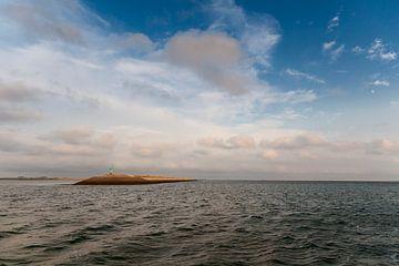 eilandje in de oosterschelde van Bernadet Gribnau
