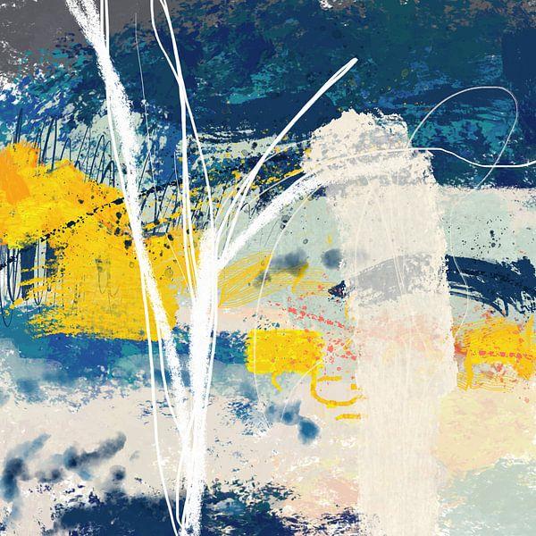 Abstract beuken bos van Nicole Habets