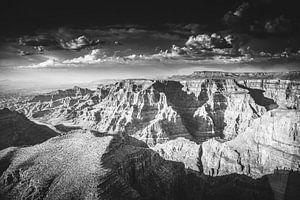 Luchtfoto van de Grand Canyon Arizona Verenigde Staten U.S. van