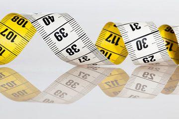 Measuring tape von Jan van der Vlies