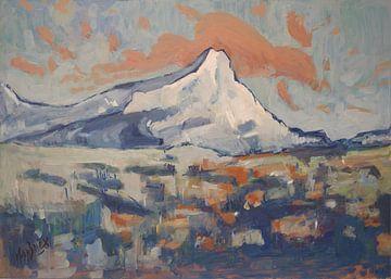 Monte Sainte Victoire von Nop Briex
