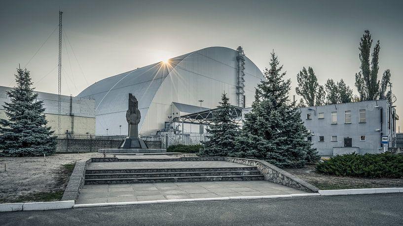 Reactor 4 Tsjernobyl van Karl Smits