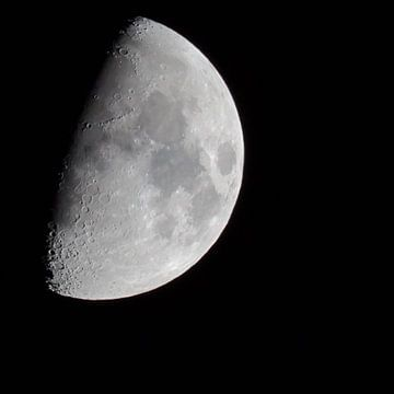 3/4 Mond (Quadrat) von Fotografie Jeronimo