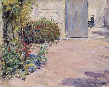 Godramstein, Gartenweg zum Sommerhaus, Rheinland-Pfalz, MAX SLEVOGT, 1912 von Atelier Liesjes