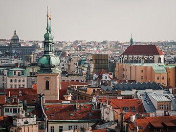 Prag - Skyline / St.-Gallus-Kirche von Alexander Voss