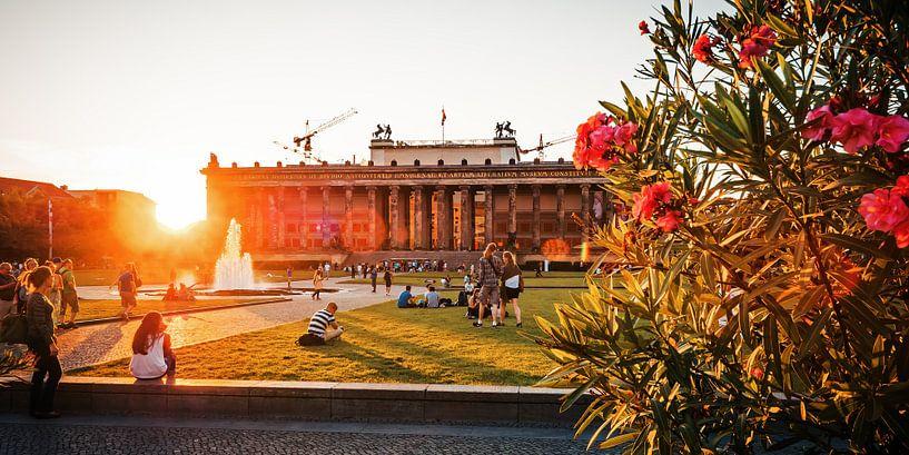 Berlin – Lustgarten / Altes Museum van Alexander Voss