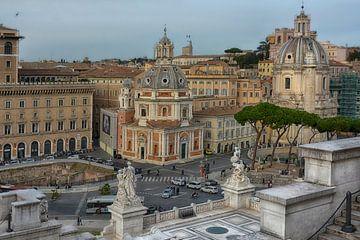 Piazza Venezia Rom von Joachim G. Pinkawa