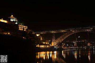 Gaia City - Dom Luis Bridge - Serra do Pilar van Ricardo Ferreira