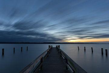Blaue Stunde am Ratzeburger See von Ronny Rohloff