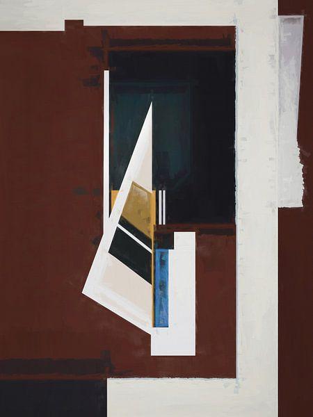 Composition abstraite 590 van Angel Estevez